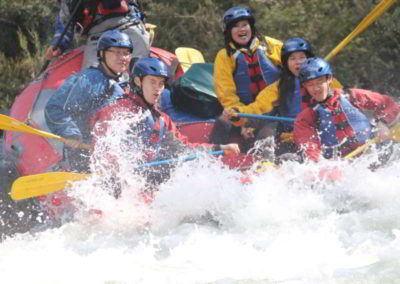 High country rafting adventures