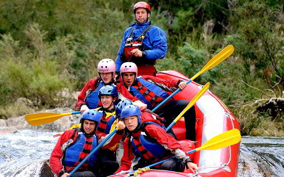 Rafting Australia - Melbourne to Albury Schools Activity