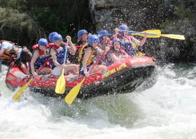 Sharks tooth river rafting